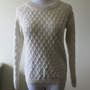 Sweaters - OLD NAVY Beige Long Sleeve Sweater Size Small